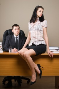 Boss and him secretary