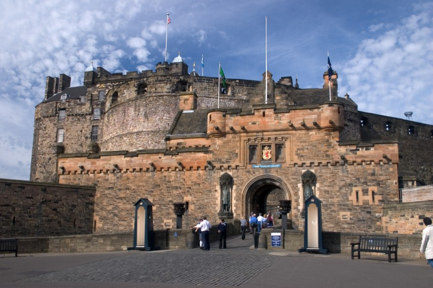The Tourists Guide to Edinburgh