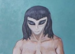 Piture of David Huggins alien lover