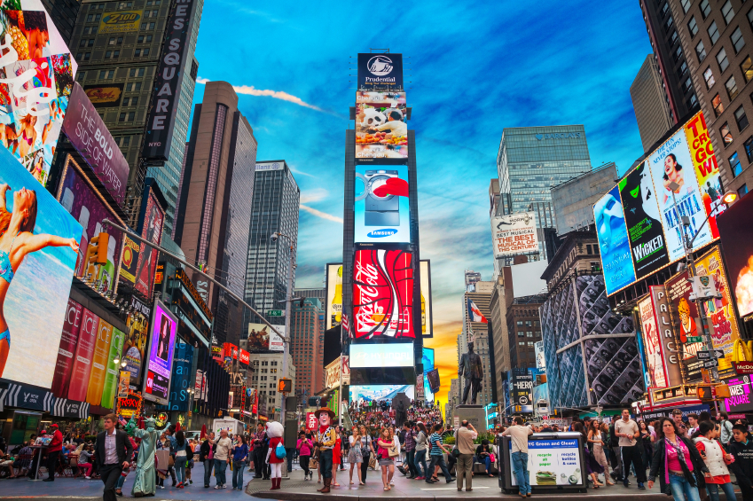 Times Square New Yorl