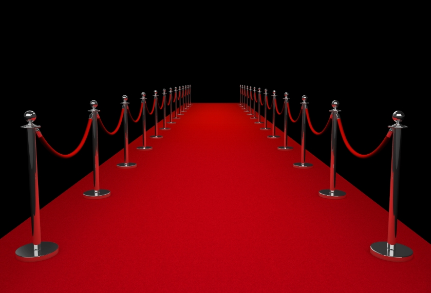 Red carpet for celebrities