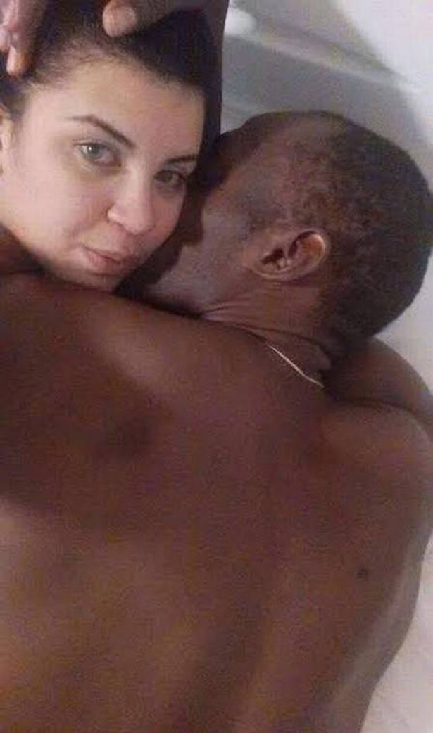 Usain Bolt in Bed with woman