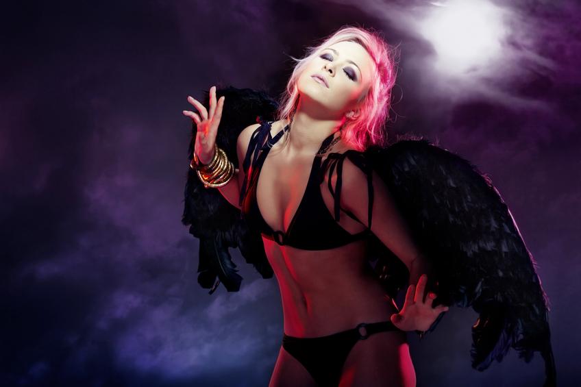 Sexy fallen angel