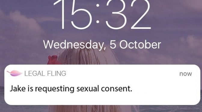 The App that 'proves' Sex is Consensual (Poll)