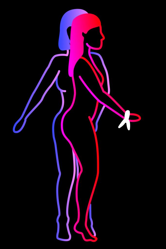 Venus in cuffs