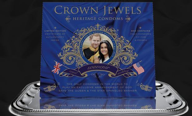 The Royal Wedding Condoms are Here (Seriously)